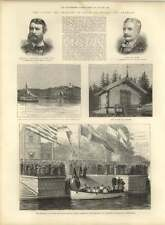 1885 Prince Of Wales In Sweden And Denmark