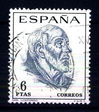 SPAIN - SPAGNA - 1967 - HI. Ildefonso (inizio 7 ° secolo-667), arcivescovo di To