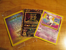Pokemon SEALED Movie ANCIENT MEW+Black Star PROMO Card MEW#8 League Set TCG ex