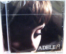 ADELE CD 19 Album New Sealed! Chasing Pavements Hometown Glory