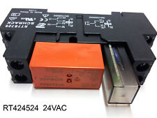 TE Connectivity / Schrack RT424524  2x8A 24VAC Tyco Industrial Power Relay - Set