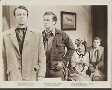 Tim Holt Virginia Cox Brothers in the Saddle 1949 original movie photo 17192