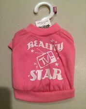 Great Choice Puppy Dog Apparel Reality TV Star T-Shirt X-Small