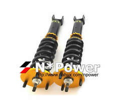 SYC ADJUSTABLE DAMPER COILOVERS FRONT PAIR FOR FORD FALCON FG XR6 XR8 UTE 08-ON
