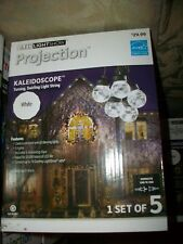 LED Light Show Projection White Kaleidoscope By Gemmy