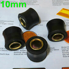 4X10mm Rubber Shock Absorber Suspension Bushes Brush for Pit Quad Dirt Bike ATV