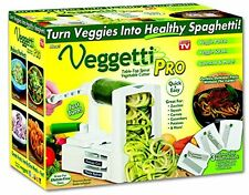 Veggetti Pro Table Top Spiral Vegetable Cutter AS SEEN ON TV! BRAND NEW!