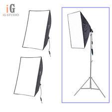 """2pcs Photo Studio continuous Lighting Softbox Video Light E27 50*70cm/20*28"""" kit"""
