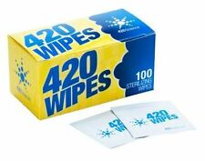 420 Vaporiser Alco Wipes Alcohol Wipes isopropyl alcohol x 100 wipes