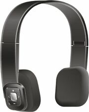 SoundlogicTM Bluetooth Foldable Headset - Black MRP 3499/- With Mic Vol Play Btn