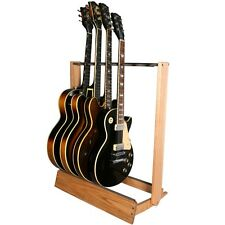 Guitar Rack Side-Loading Inline String Swing CC34 USA Made Hardwood Stand