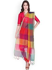 Women's  traditional ethnic apparel clothing Striped Dupatta/chunni/Stole -multi