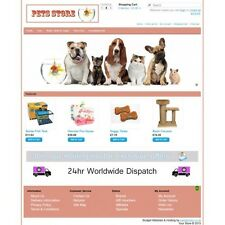 Pets Ecommerce Website Business, Shopping Cart / Online Store 12 months hosting