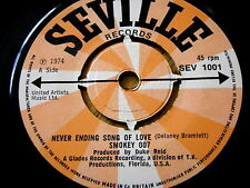 "SMOKEY 007 - NEVER ENDING SONG OF LOVE  7"" VINYL"