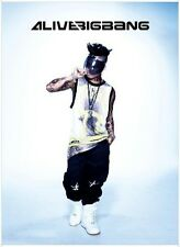 BIGBANG 5th MINI ALBUM [ ALIVE ] BACK COVER TAEYANG SOLAR