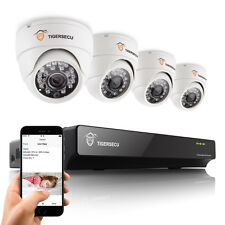 4CH DVR Home Security CCTV System 800TVL Indoor Dome Camera Mobile Remote View