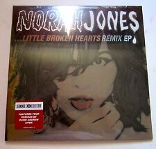 "Norah Jones Little Broken Hearts Remix EP 10"" Vinyl RSD 2012 RARE OOP /1500"