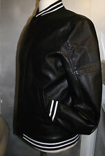 ARMANI EXCHANGE large faux  leather look   jacket  BRAND NEW