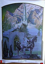 1976 Lord of the Rings-Citadel at Sunrise-Steve Hickman Print/Poster(D9191-MH)