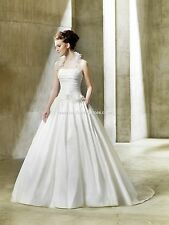 BNWT ENZOANI MODECA NORDICA WEDDING GOWN DRESS SIZE 22 IN IVORY *RETAIL $1550*