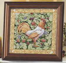 Berry Patch Rooster - Brent - Cross Stitch Kit