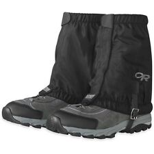 OUTDOOR RESEARCH ROCKY MOUNTAIN LOW GAITERS BLACK (LARGE/X-LARGE)