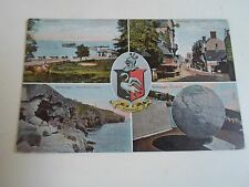 Vintage Colour Postcard SWANAGE  Peacock Brand A495 Franked+Stamped 1913