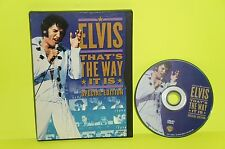 Elvis: That's the Way It Is (DVD, 2001, Special Edition) RARE! OOP!