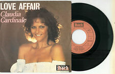 "CLAUDIA CARDINALE ""Love Affair""  - French 7"" Single Ibach 1977"