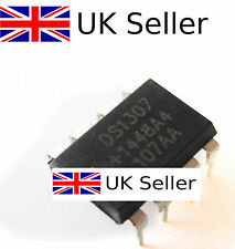2Pcs IC DS1307 DS1307N DIP8 RTC SERIAL 512K I2C Real-Time Clock TOP UK SELLER