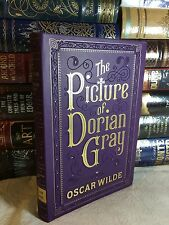 THE PICTURE OF DORIAN GRAY by OSCAR WILDE Leatherbound Collectible & BRAND NEW!