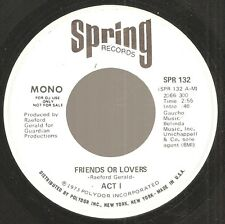 ACT I~Friends Or Lovers~SPRING dj 45 sweet soul~sampl Lloyd Banks,Lost Boyz,Azad