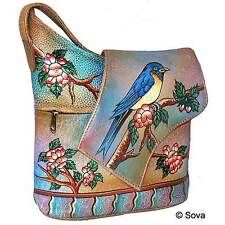 Sova Hand Painted Shoulder Bag - 11 Adorable Fine Arts
