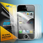 12pcs= 6x Full Body Front Back Screen Protector Cover for Apple iPhone 4 4S 4G