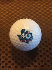 LOGO GOLF BALL-MLB..40TH ANNIVERSARY....TEXAS RANGERS....COOL LOGO