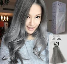 BERINA HAIR COLOR PERMANENT CREAM HAIR LIGHT GRAY SILVER A21 PROFESSIONAL