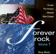 FOREVER ROCK NEW CD * JOURNEY, ALICE COOPER,HOOTERS,EUROPE,REO SPEEDWAGON + MOR