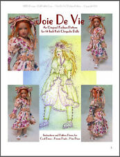 """Joie De Vie"" Fashion Pattern for Kish Chrysalis"
