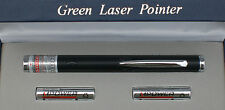 POWERFUL BLACK APC 532nm GREEN LASER POINTER ASTRONOMY PEN
