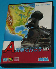 Take the A Train - Sega Megadrive MD JAPAN  - JAP