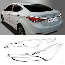 Chrome Rear Tail Light Lamp Garnish Molding C497 For HYUNDAI 2011-16 Elantra MD