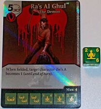 Foil RA'S AL GHUL: THE DEMON 30 Green Arrow and The Flash Dice Masters