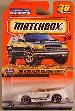 Matchbox '99 Mustang convertible #36 1999