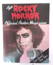 Original Rocky Horror Picture Show Official Poster Magazine #1- Fold Out (M3735)