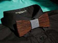 """NYTies"" Wooden Bow Tie HandMade Men's Fashion Gift."