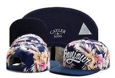 Hot Men's CAYLER WEEZY Sons Hip Hop hat adjustable Baseball Snapback cap Blue