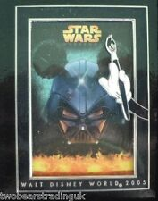 Disney Jumbo Pin: WDW Star Wars Weekends 2005 - Logo (Mickey & Darth Vader) LE
