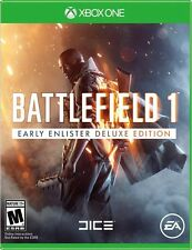 New - Battlefield 1: Early Enlister Deluxe Edition - Xbox One [Physical Disc]