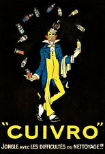 Art Ad Cuivro  Drink Alcohol Drinks Pub Bar Chic Deco   Poster Print