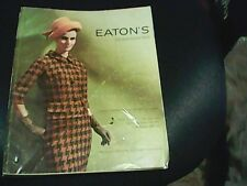 VINTAGE EATONS FALL & WINTER CATALOG 1965